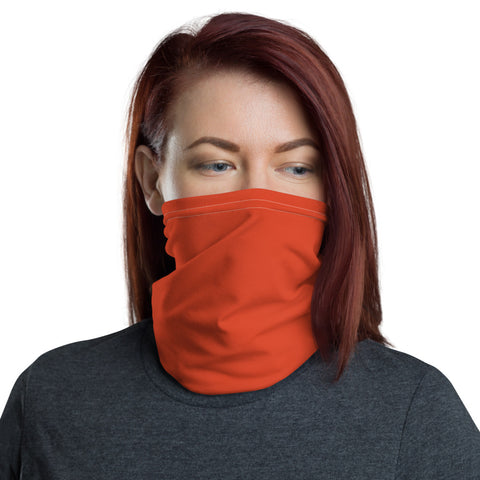 Neck Gaiter Tangerine Tan.
