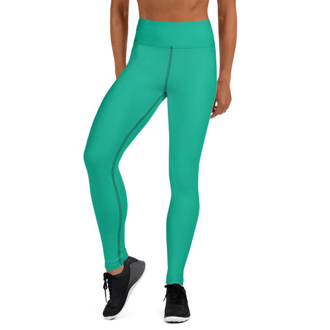 Yoga Leggings Bright Green.