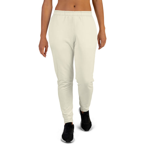 Women's Joggers Sweet White.