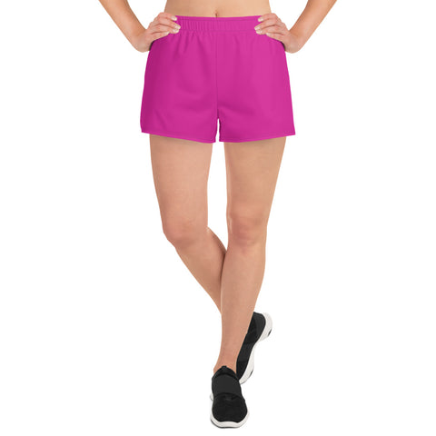 Women's Athletic Short Shorts Pink.