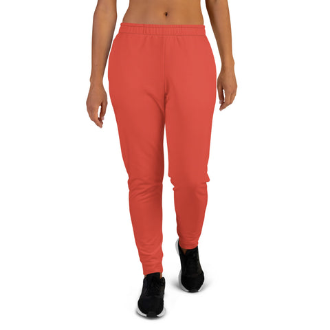 Women's Joggers Fiesta Red.