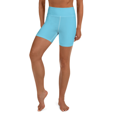 Yoga Shorts Light Blue.