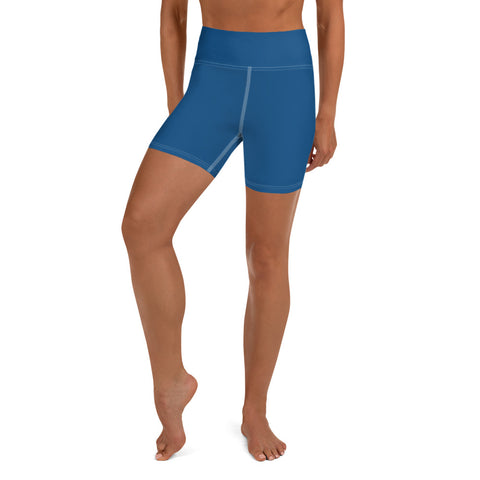 Yoga Shorts Atlantic Blue.
