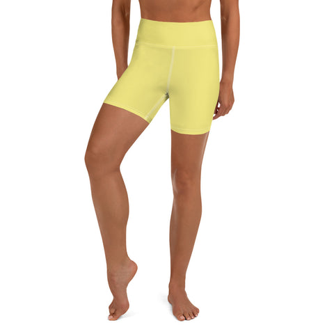 Yoga Shorts Lemon Yellow.