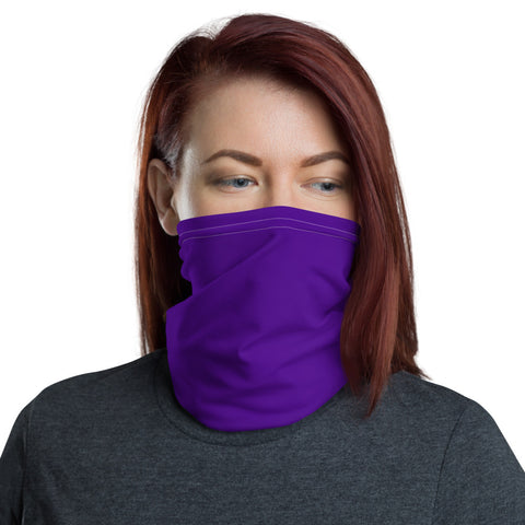 Neck Gaiter Medium Purple.