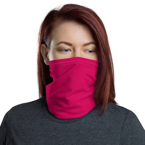 Neck Gaiter Strong Red.