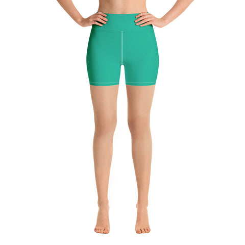 Yoga Shorts Bright Green.