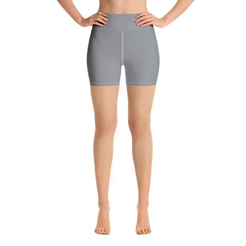 Yoga Shorts Brown Gray.
