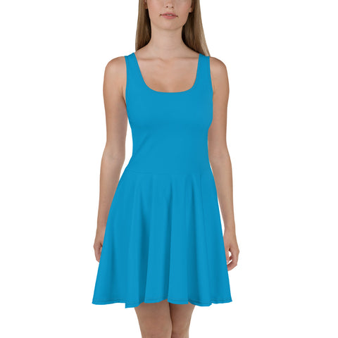 Skater Dress Cloud Blue.