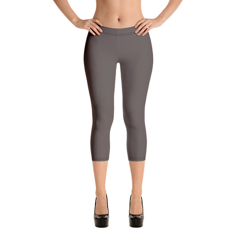 Capri Leggings Granite Brown.