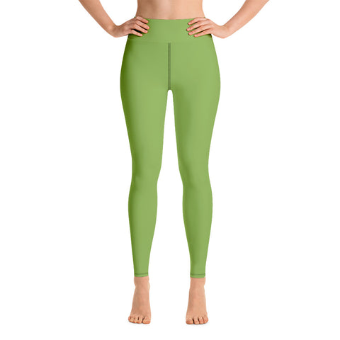 Yoga Leggings Greenery Green.
