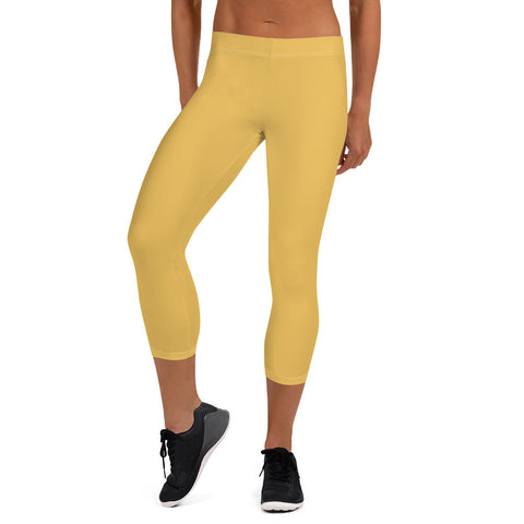 Capri Leggings Mimosa Yellow.