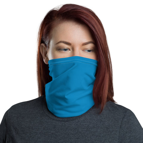 Neck Gaiter Process Blue.