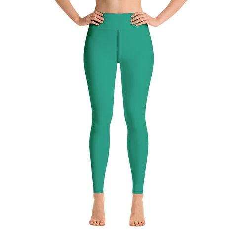 Yoga Leggings Emerald Green.