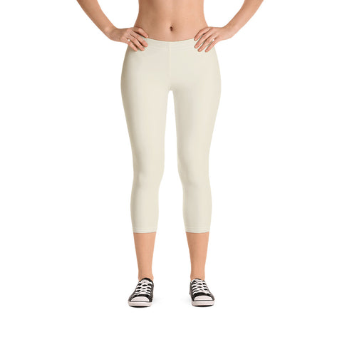 Capri Leggings Sweet White.