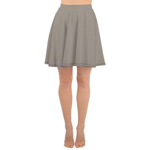 Skater Skirt Medium Gray.