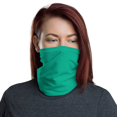 Neck Gaiter Bright Green.