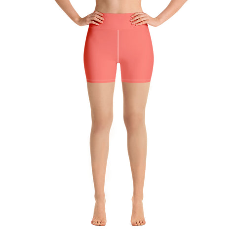 Yoga Shorts Living Coral.