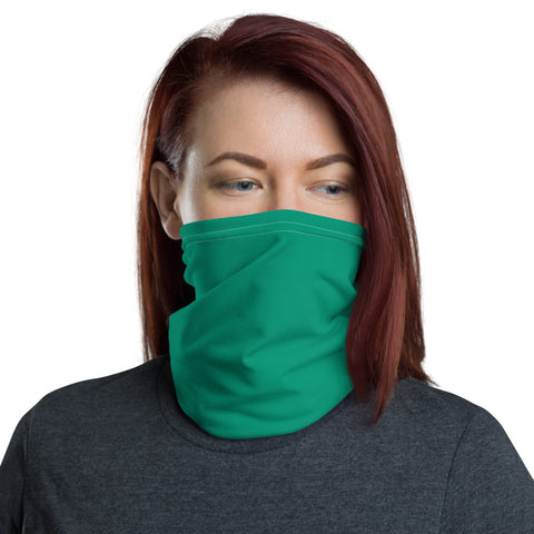 Neck Gaiter Emerald Green.