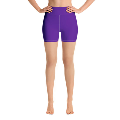 Yoga Shorts Medium Purple.