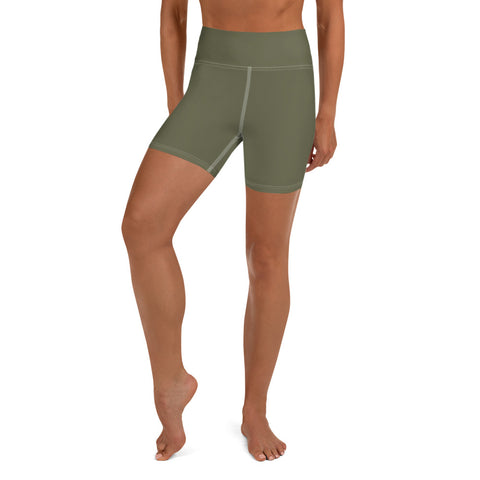 Yoga Shorts Terra Green.