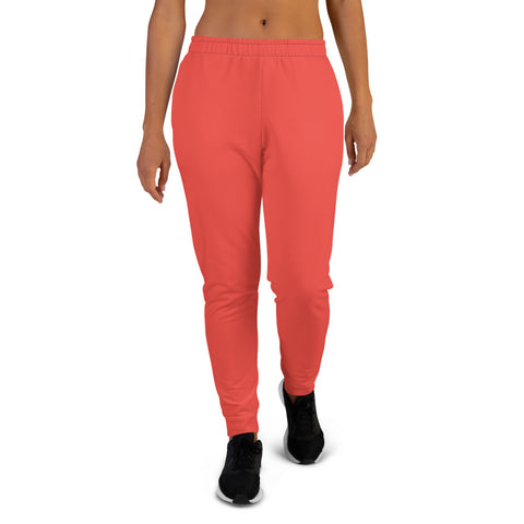 Women's Joggers Warm Red.