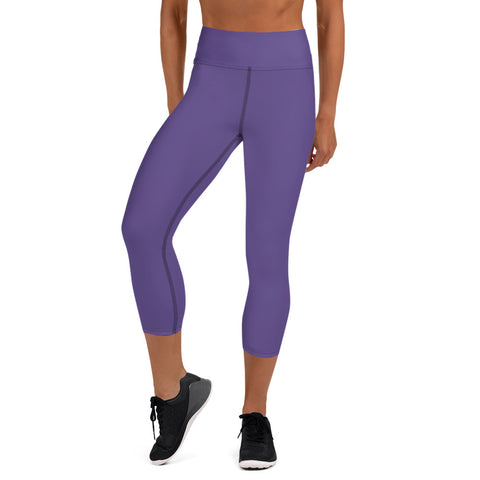Yoga Capri Leggings Ultra Violet.