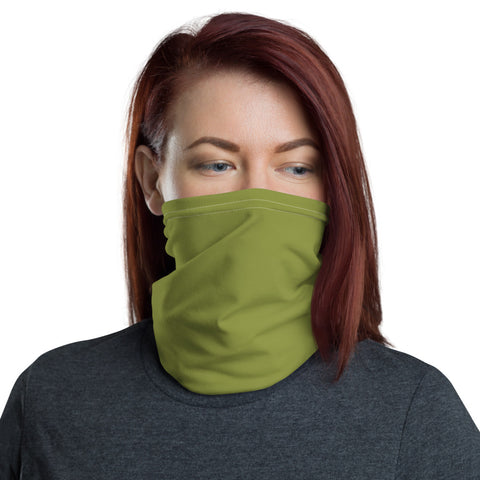 Neck Gaiter Pepper Green.