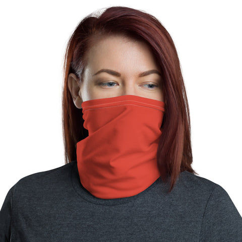 Neck Gaiter Fiesta Red.