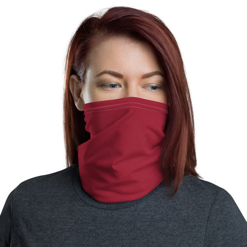 Neck Gaiter Chili Red.