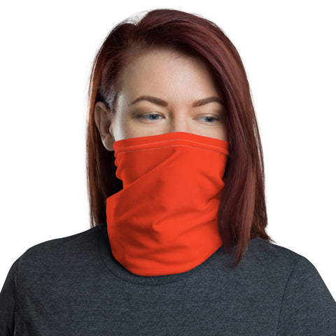 Neck Gaiter Bright Red.