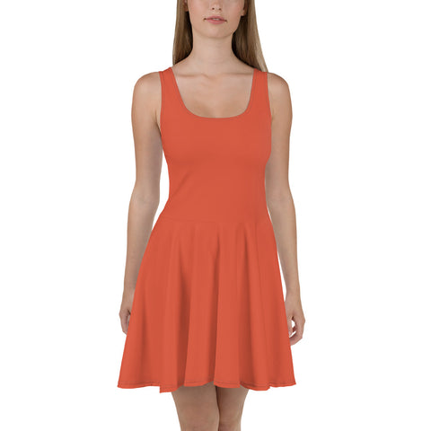 Skater Dress Lilly Orange.