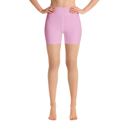 Yoga Shorts Light Magenta.