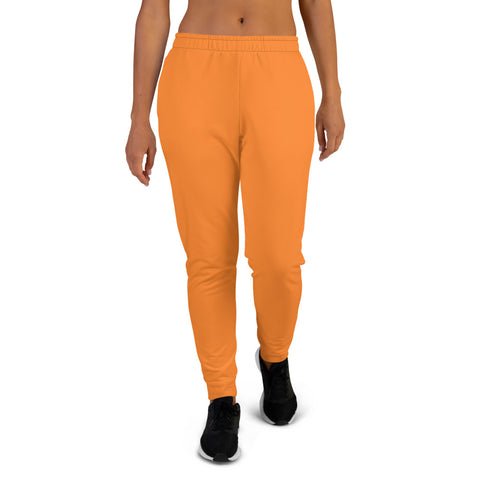 Women's Joggers Turmeric Orange.