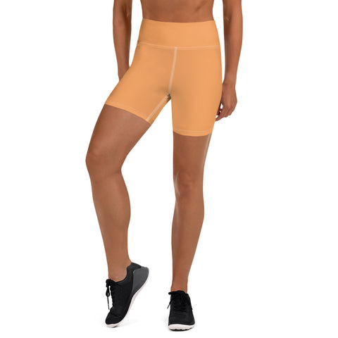 Yoga Shorts Tangerine.