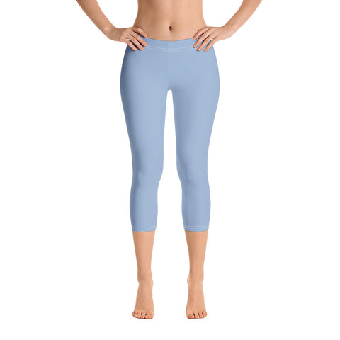 Capri Leggings Cerul Blue.