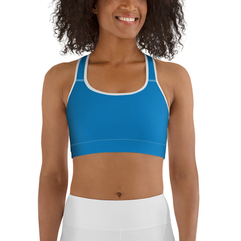 Sports bra Medium Blue.