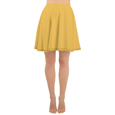 Skater Skirt Mimosa Yellow.