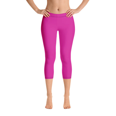 Capri Leggings Pink.