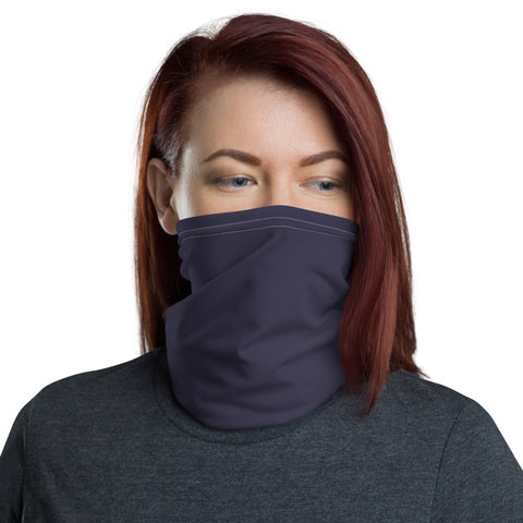 Neck Gaiter Eclipse Gray.