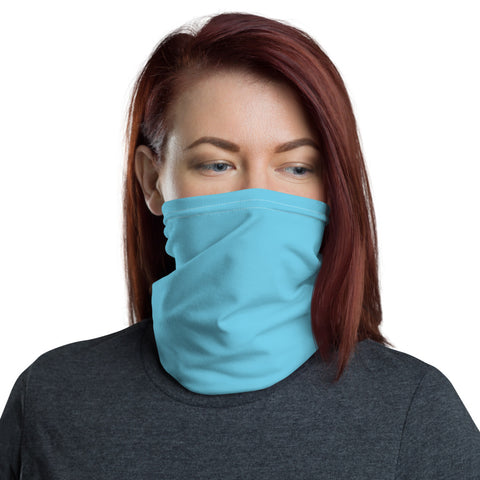 Neck Gaiter Light Blue.