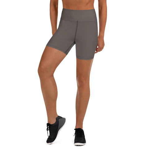 Yoga Shorts Granite Brown.