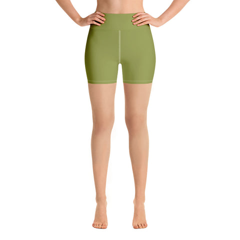 Yoga Shorts Pepper Green.