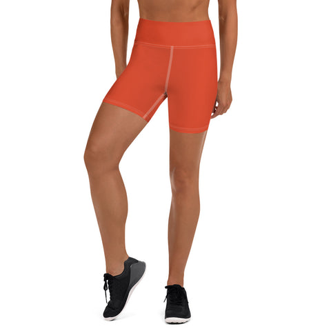 Yoga Shorts Tangerine Tan.