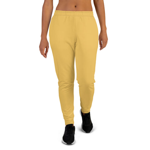 Women's Joggers Mimosa Yellow.