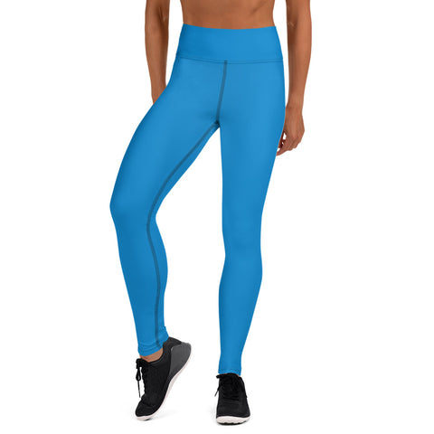 Yoga Leggings Medium Blue.