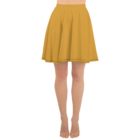 Skater Skirt Mango Yellow.
