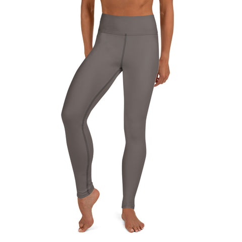 Yoga Leggings Granite Brown.