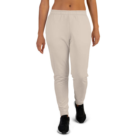 Women's Joggers Sand.