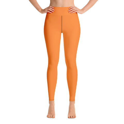 Yoga Leggings Turmeric Orange.